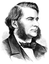 Woodcut picture of Thomas Huxley